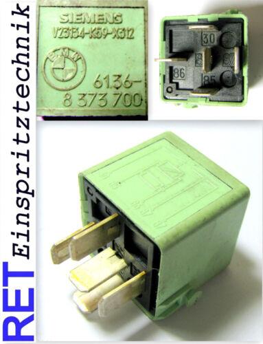 Relais Steuerrelais SIEMENS 8373700 BMW 3 er 5 er E 30 E 34 original