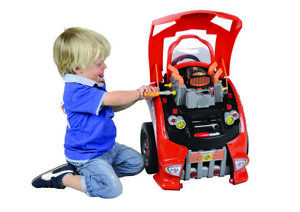 Little-Mechanic-039-s-Kid-039-s-Car-Engine-Service-Toy-Kit-by-Flat-River-2843