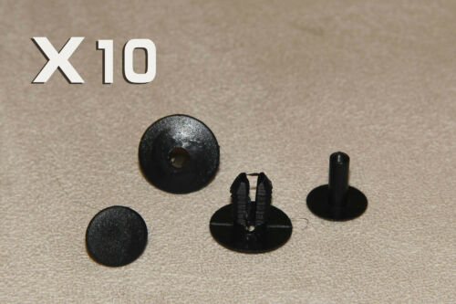 CITROEN Trim Panel Interior-Carpet rivestimenti Rivetto in plastica nera clip 8 mm