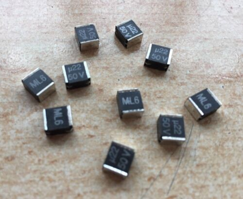 WIMA SMD//SMT Condensateurs 0.22uF 20/% 50 V 2220 20 pieces Z2421