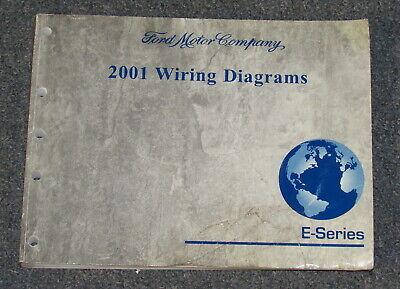 2001 ford e series van e 150 e 250 e 350 service wiring F350 Brake Light Wiring Diagram