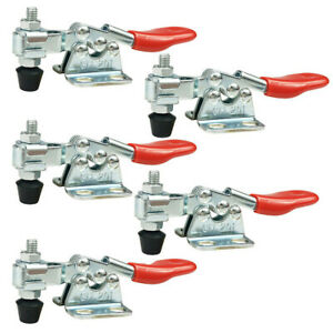 5PCS-Toggle-Clamp-Holding-Capacity-GH-201-Latch-Type-Quick-Clamp-Lock-Tool
