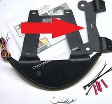 License Plate / Tag Mount Bracket for SBL Victory Hammer Fender Light Bar Kit