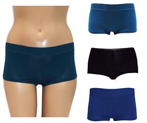 1 Pair Womens Boxer Shorts Pants Ladies Cotton Underwear  Size S M L
