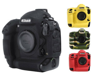BEST High Quality Cover for Nikon D4 D4S Camera Protection Case Silicone  GIFT | eBay