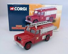 Corgi Toys 07417 Leicestershire fire service Land Rover 1:43 perfect mint in box