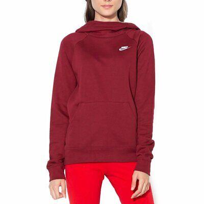 Nike Sportswear Essential Sweats À Capuche Bordeaux Femme   eBay