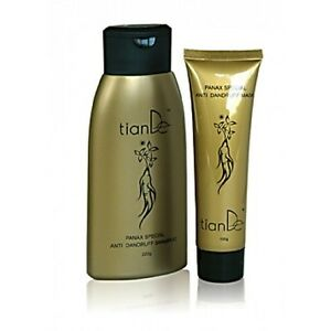 TianDe-Ginseng-Regenerating-Shampoo-and-Hair-Mask-for-Damaged-Hair-Beauty-set