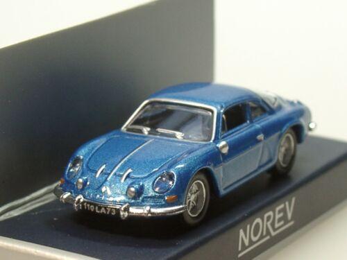 blau met - 517816-1:87 1973 Norev Renault Alpine A110