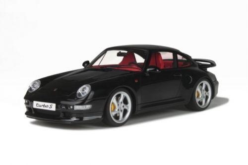 1 18 Gt Spirit  Gt714 Porsche 911 (993) TURBO S Noir Limité