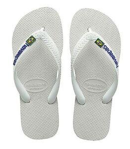 Infradito UomoDonna HAVAIANAS 41108500001 Brasil Logo bianco