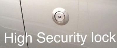 FORD TRANSIT MK7 00-14 - HYKEE SECURITY ANTI PICK DOOR DEAD LOCK + BEZEL +  GUIDE | eBay