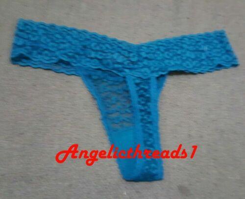 PRIMARK Ladies Womens Blue Thong Underwear Brief Knicker New BNWT
