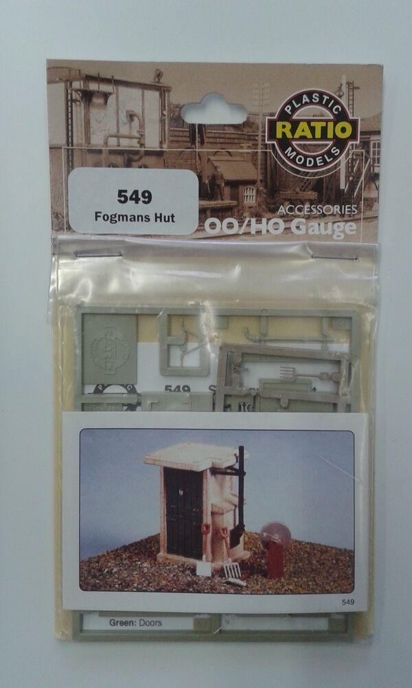 Fogmans Hut - Ratio Ratio Ratio 549 - OO HO Building Kit - F1 1e68f1