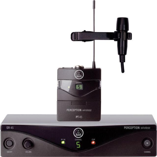 New AKG Perception Wireless lavalier Presenter Set Best Deal eBay! Auth Dealer!