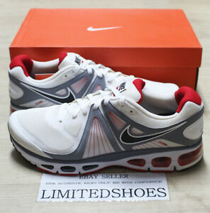 Details about NIKE AIR MAX TAILWIND 4 RUNNING SUMMIT WHITE BLACK RED 453976 103 US 15 SIZE