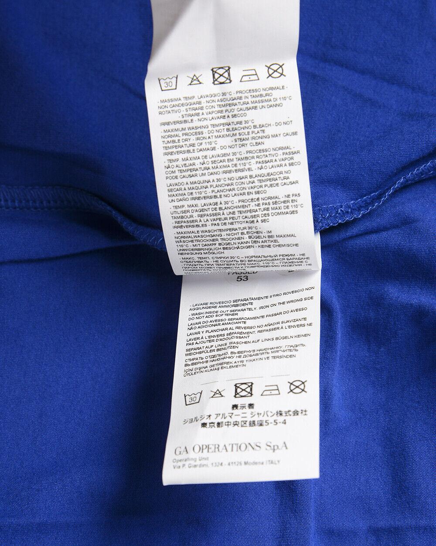 T shirt Maglietta Emporio Emporio Emporio Armani EA7 Sweatshirt Cotone Uomo Blu 3ZPT93PJ03Z 1570 cc1f41