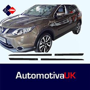 fits-Nissan-Qashqai-Mk2-Rubbing-Strips-Door-Protectors-Side-Protection-Mouldings