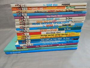 20-hardcover-kids-picture-books-DR-SEUSS-amp-beginner-readers-lot