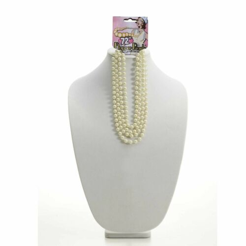 """72/"""" Clapet Pearl Collier 1920 S Femmes Fancy Dress Accessoires"""