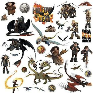Image is loading HOW-TO-TRAIN-YOUR-DRAGON-31-BiG-Wall-