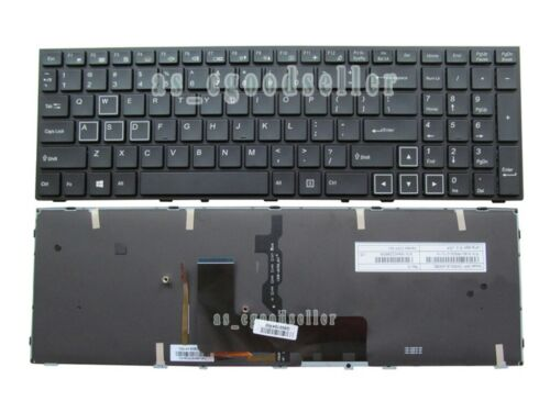New for Clevo P651RE6 P650RE3 P650RE6 P650RG P670RG Gaming Keyboard US BACKLIT