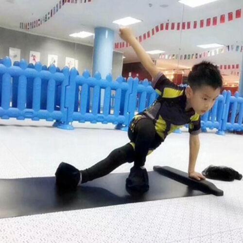 Slide Board Kid Adults Balance Training Mat Fitness Workout Roller Skate Pad