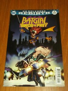 BATGIRL BIRDS OF PREY #2 DC UNIVERSE REBIRTH VARIANT NOVEMBER 2016 NM (9.4)