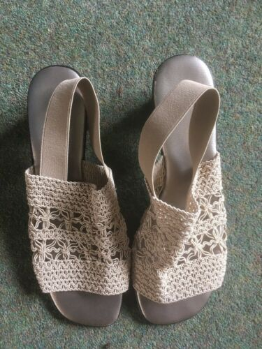 Sandal Beige Eu38 In Ladies Size 4qXwdnY