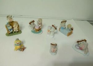 Lot of 7 Vintage Collectable Dreamsicles Figurines From 1990's to Early 2000's