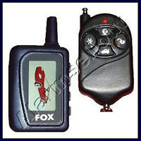 2-way Lcd Car Alarm W/ Remote Start Starter - 2 Remote Manual Or Automatic