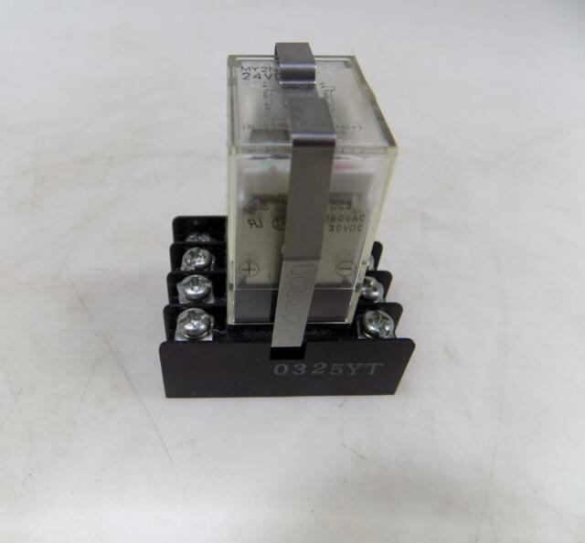 Omron Relay 24vdc My2n Base 0325yt