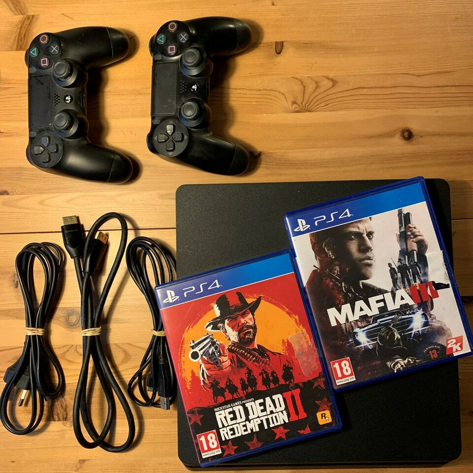 Playstation 4, Slim, 500GB