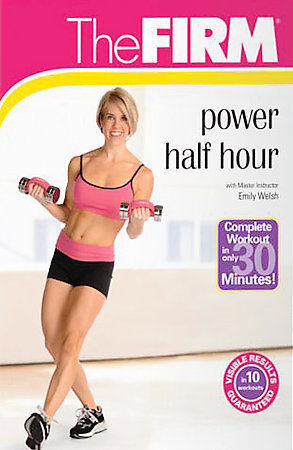 The FIRM  Power Half Hour DVD New 2008 Emily Welsh Fat Burning Workout Gaiam