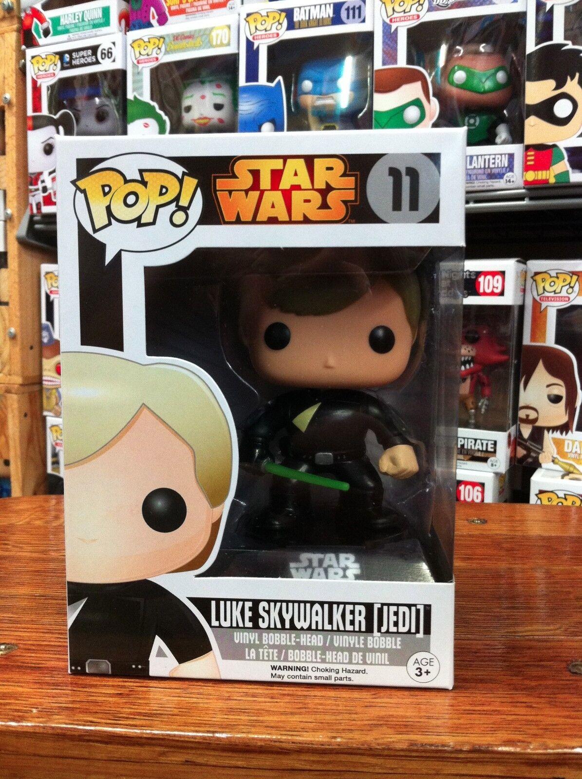 Pop Estrella Wars Jedi Luke 11 Funko Pop Vinilo embalaje experto
