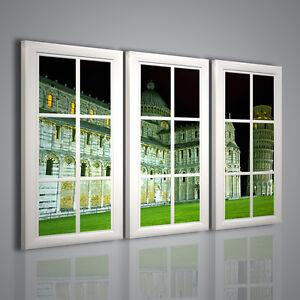 Quadri moderni torre di pisa quadro per arredamento casa for Quadri moderni per arredamento