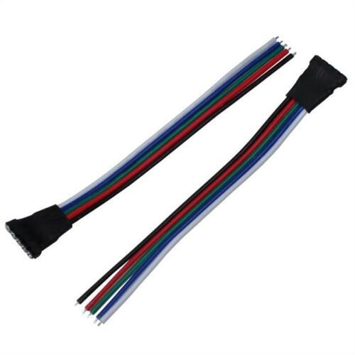 RVB W RGBW rapidement connecteur femelle-extrémités ouvertes-longueur environ 10 cm