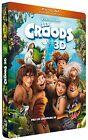 Les Croods [Combo Blu-ray 3D + Blu-ray + DVD - Édition boîtier SteelBook]