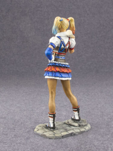 Hand Painted Woman Harley Quinn 1//32 Metal Tin Figure Girl Toy Soldier 54mm