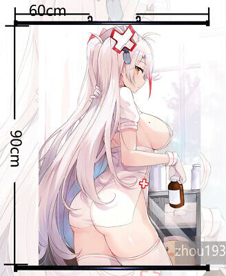 Azur Lane Prinz Eugen Wall Scroll Poster Home Decor Holiday Gift 60*90cm#0302