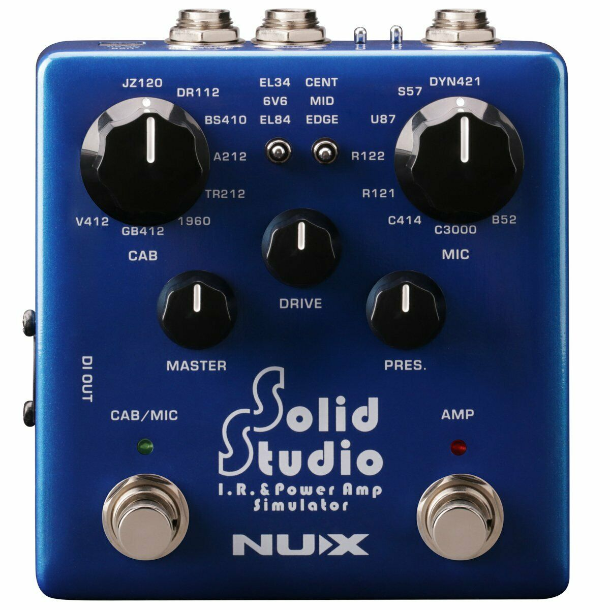 NEW NUX NSS-5 Solid Studio IR & Power Amp Simulator