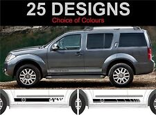 nissan pathfinder side stripe decals stickers side stripes 2 off