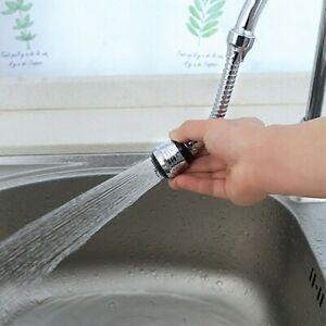 Cucina-Rubinetto-Risparmio-Acqua-Filtri-Spray-360-Lavello-Testa-Prolunga