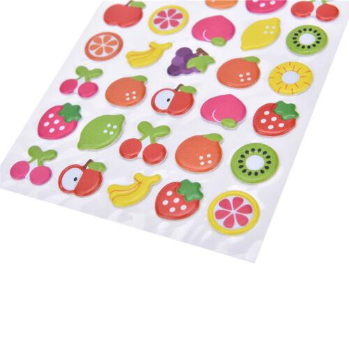 Kawaii Cartoon 3D Bubble Stickers DIY Diary Scrapbook Album Phone Sticker RFBDC