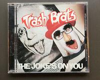 TRASH BRATS - The Joke's On You CD VG+ Condition 1995 13 Tracks Glam Rock