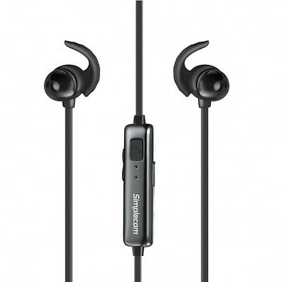 Metal In-Ear Sports Bluetooth Stereo Headphones