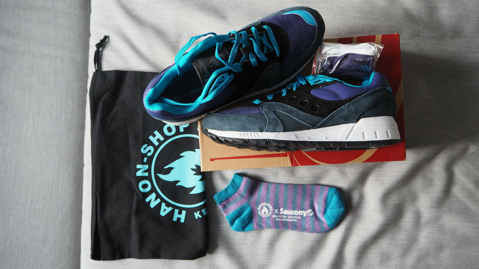 Saucony x Hanon Shadow Master us 11   midnight runner