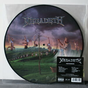 MEGADETH-039-Youthanasia-039-PICTURE-DISC-Vinyl-LP-NEW