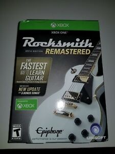NEW-Rocksmith-2014-Edition-Remastered-Microsoft-Xbox-One-Real-Tone-Cable