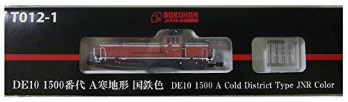 Nuovo Rokuhan Z gauge T012-1 DE10 1500 series A cold terrain national iron color